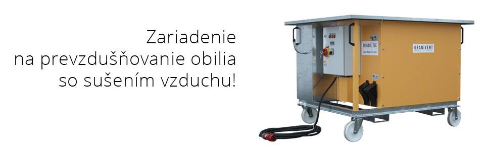 Granivent - zariadenie na prevzdušňovanie obilia