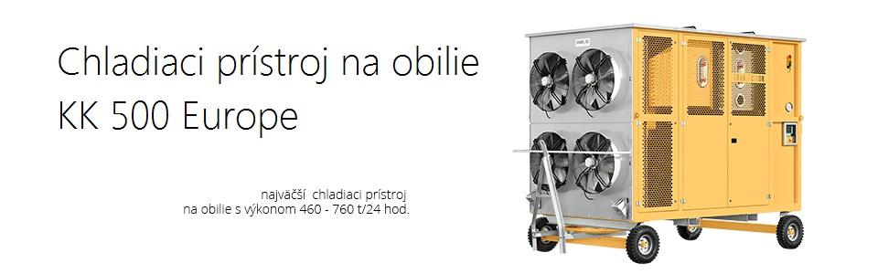 Chladiaci prístroj na obilie Granifrigor KK 500 Europe