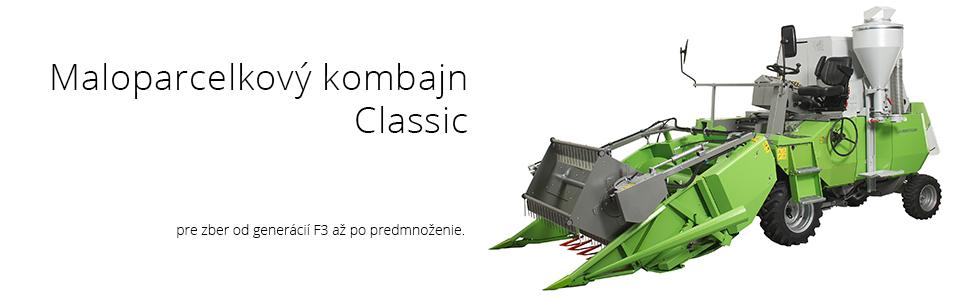 Maloparcelkový kombajn Wintersteiger Classic