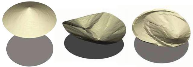 Sken profilu materiálu v 30 m sile počas rôznych periód skladovania.