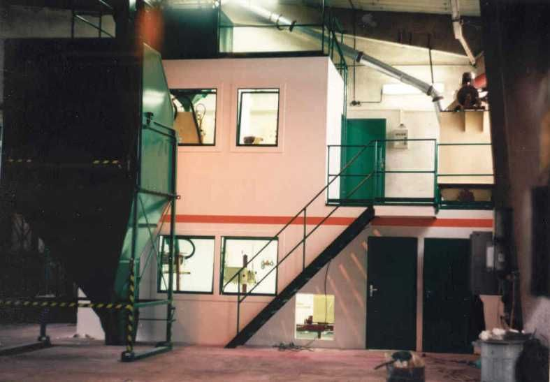 Sempol Bajka - celkový pohľad na vrecovanie
