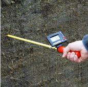 Tyč na meranie teploty pre maštaľný hnoj a siláž